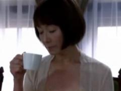高齢熟女動画 島田陽子 スレンダーな五十路おばさん人妻がSEXで寝取られる...