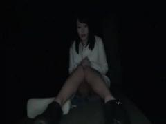 野外SEX 巨乳娘の野外放尿&羞恥オナニー&野外全裸中出しSEX!