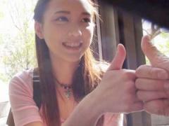 アジアの美少女 クソ可愛い20歳の台湾娘をナンパ性交 日本の電マ&バイブで...