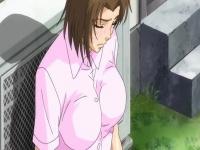 エロアニメ DQNに寝取られ子宮姦されながら恋人に電話して中出しで潮吹き...
