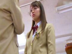 学園の陰謀に巻き込まれた美少女jk。親友に睡眠薬を飲まされ教師にハメられる
