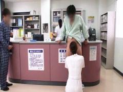 ナース お願いすれば何処ででも口やアソコで性交処理をしてくれる看護婦さん