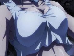 エロアニメ 女戦士が薄手のシャツとパンツ一枚姿で戦わされてるくっっそエ...