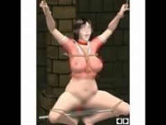 3Dエロアニメ メガネjkのセーラー服が透けて見えちゃう…そしていつしか裸...