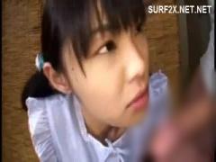 AV女優の初芽里奈 夏祭りで誘拐されたツインテール清楚ちっぱい美少女女子...