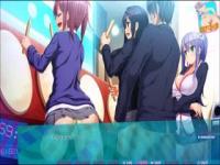 エロアニメ 時間停止して某有名ゲームで遊んでいる3人の女性にそれぞれ膣...