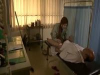 紅音レイラがクリニックでエロ治療