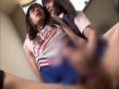 JK手コキ 女装させられた弟にリビドーを刺激された制服女子校生の姉はロー...