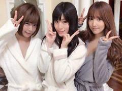 超可愛すぎるTOP女優三人が共演したチンピクめちゃシコ映像《三上悠亜 高...