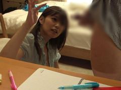 教え子の勃起チンポに興奮した痴女家庭教師が撮影した卑猥な映像