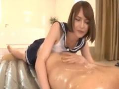 デカ乳おとこの娘のマットプレイ&肛門や肉棒刺激され痙攣してるのえっろい