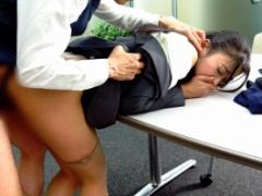 いや、やめて! 鬼畜上司の男にオフィスで繰り返しレイプされてしまう美人OL