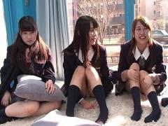 マジックミラー号 美少女で女子校生のスレンダー可愛いJK 美女女子校生が騎乗位乱交ハメ撮りSEXする素人ナンパ企画