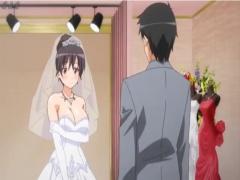 結婚直前の幸せな時期。婚約者以外の精子を中出しされる エロアニメ