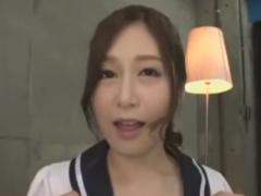 ニーハイ痴女の顔面騎乗フェラ手コキで悶絶させられるM男動画
