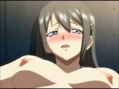 エロアニメ 幼馴染の清楚系巨乳美少女が恥じらいつつも気持ちいい快感セッ...