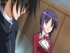 エロアニメ 高貴なむっちり爆乳美少女お嬢様が婚約者といちゃラブセックス