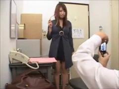 マン引き巨乳ギャル女子校生がド変態店長に脅迫レイプで生ハメSEX! !