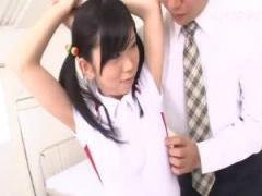パイパン かわいい女子生徒が先生や男子たちの肉便器に!