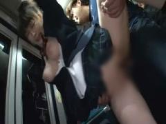 女子校生 レイプ 着衣で巨乳の女子校生JKの、レイプイラマチオ痴漢プレイ...