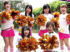 SODファン大感謝祭 ^^ チアガールお姉さん達とエチな温泉旅行スタート! ザ...