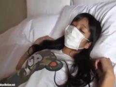 可愛いジャージ黒髪美少女睡眠薬レイプハメ撮り! 思春期膨らみかけおっぱ...