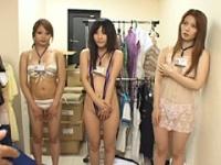 美しすぎる超純情女子社員4人組が脱いだ!?