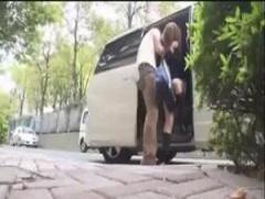 これはガチ 拉致ったJKを車内で拘束レイプする鬼畜男が撮ったハメ撮り動画!