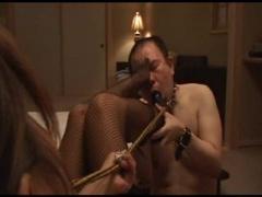 素人M男を奴隷調教するプロの女王様動画