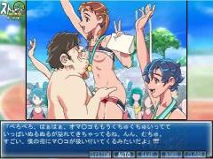 エロアニメ 陸上選手の細身の童顔美少女が動けないようにされてパンツおろ...