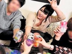 NTR! ヤリサーで飲み友達の男たちと全裸でウェイウェイして弾ける彼女に鬱...