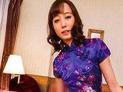 関西大学出身の元グラドル! チャイナドレスを着用したメンズエステティシ...