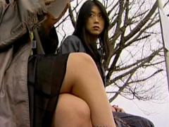 ヘンリー塚本 通勤バスで狙った女をナンパしてレズセックスの快楽に溺れさ...