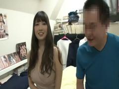 神乳JカップのRIONちゃんがファンに大サービス! ! 好きなだけヤっちゃって...
