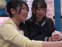女子校生 美少女で可愛いJK 女子校生が手コキ マジックミラー号