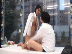 MM号 予備校講師の2人が密室でキス技コンプリートに挑戦! 舌を絡めあうキ...