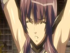 エロアニメ 怪物モンスターに囚われて犯されまくりの巨乳美女! 二穴同時攻...