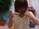 投稿!!女子校生の自画撮りディルドオナニー