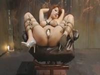 SMレズ動画 緊縛されたドM奴隷を女王様が焦らし調教で馬乗りクンニ!