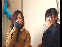 CFNM チンコ見せられたウブな女が戸惑い恥じらう表情が萌えるセンズリ鑑賞...