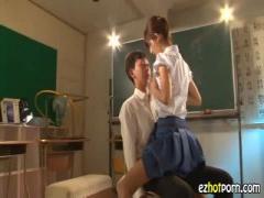 こんな女教師がいたらいいな モデルのような痴女教師に逆レイプされるM男...