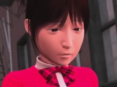 アイドルがファンに陵辱調教される3Dエロアニメ