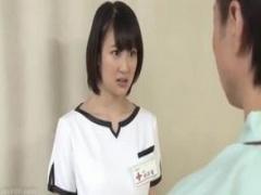 昼間胸チラさせていた看護婦さんが夜間巡回に来たときに襲いパンストを破...