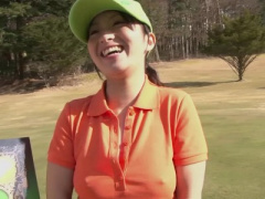 無修正 ゴルフで負けて生ハメSEX罰ゲーム