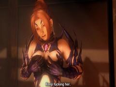 3Dエロアニメ DOA霞がモンスターに犯される! くのいち凌辱レイプww