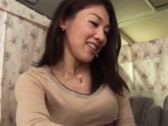 おっおっきい… セレブ奥さまにデカチン見せてセックス交渉!