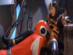 M男動画 戦隊ヒーローが悪の女王に手コキ抜きされたあげく強制クンニで完...