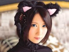 アイドル級の可愛さ! Fカップ美少女がネコ耳コスでエッチなおもてなし! HD...