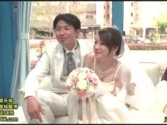 マジックミラー号 ドレスを着た花嫁が結婚式直前に最後の浮気セックス! 旦...
