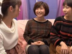 レズナンパ 美熟女マダムに誘われ女友達と一緒に初めての3Pレズプレイ! ! ...